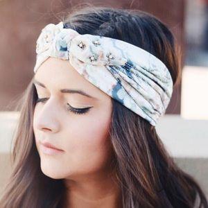 Anthro beaded headband